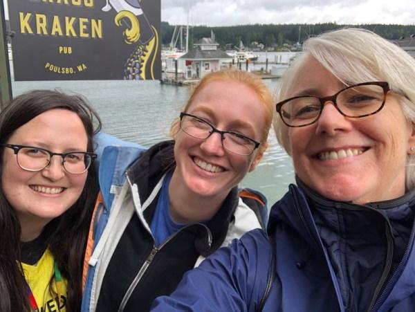 Makayla, Nicole and Julie in Poulsbo, WA.