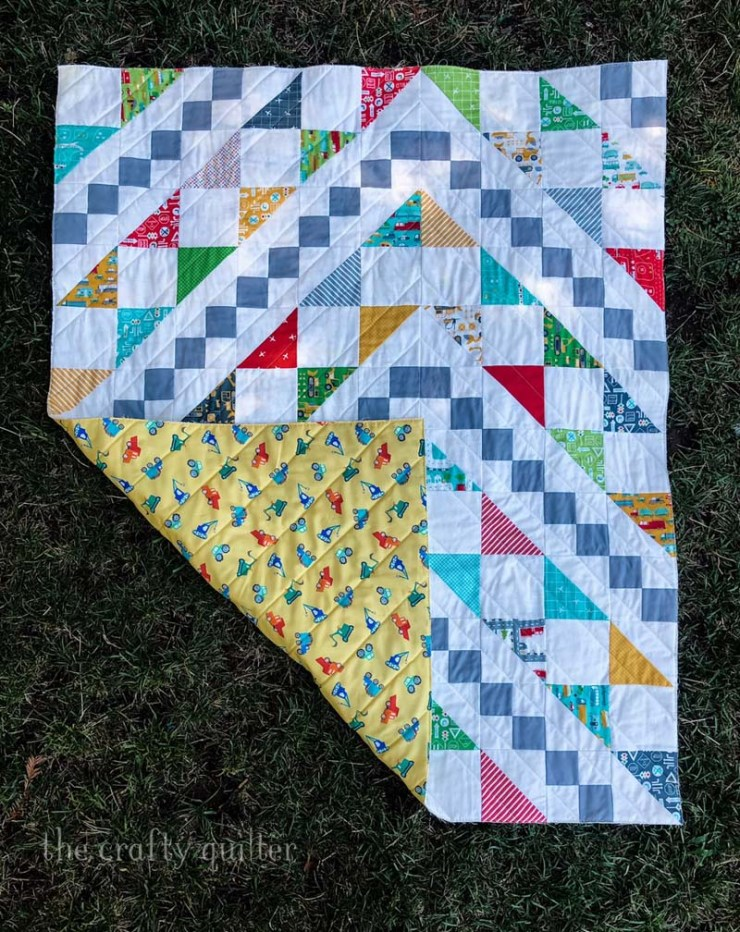 Bowtie Quilt made by Julie Cefalu - from the book Just One Charm Pack Quilts by Cheryl Brickey