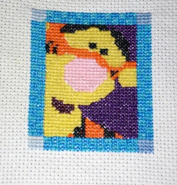Cross Stitch Crafty Redhead