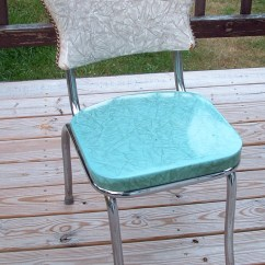 Vintage Kitchen Chairs Large Rug Crafty Challenge 9 Chair Re Upholstery The Sisters Original Before