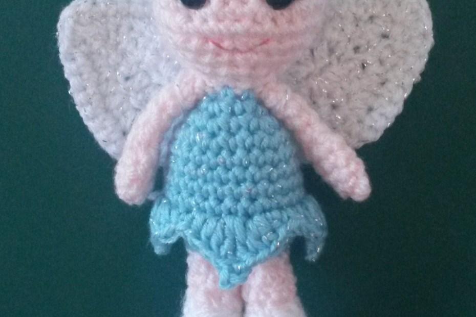 Frost Fairy crochet doll