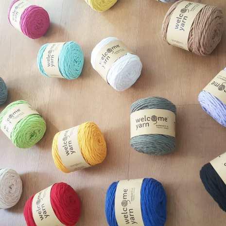 Welcome Yarn Barbante recycled yarn