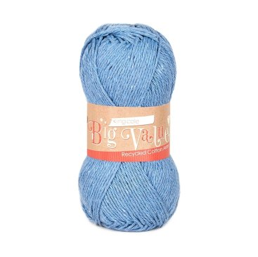 King Cole Big Value Recycled cotton aran recycled yarn