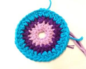 free rainbow crochet pattern - The Rainbow of Gratitude by The Crafty Therapist