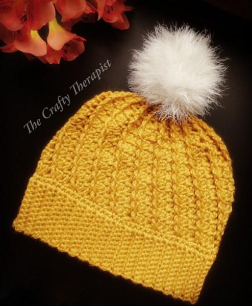 Spiral Hat Crochet Pattern by Janferie MacKintosh