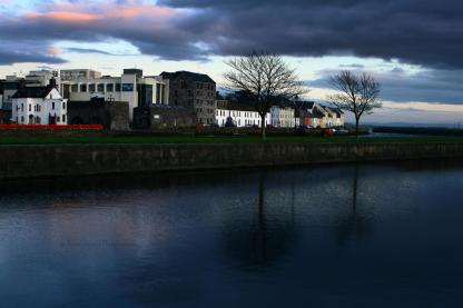 Peaceful evening by the Quay