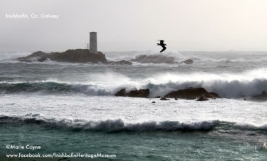 Storm Henry Hitting Inishmore island 1st February 2016. Photo by Marie Coyne