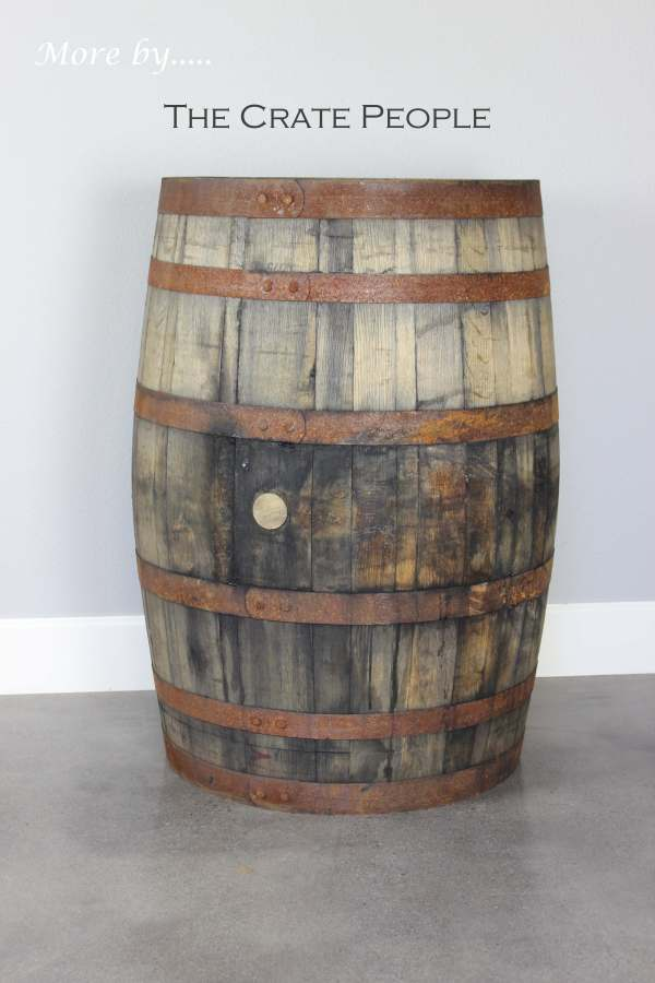 Rent Whiskey Barrels Crate People