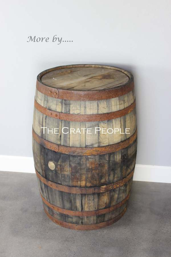 Used Bourbon Whiskey Barrels Crate People