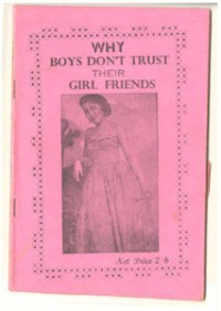 why boys don trust their girlfriends - Njoku,N.O