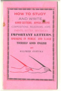 How To Speak and Write English - Onwuka,Wilfred