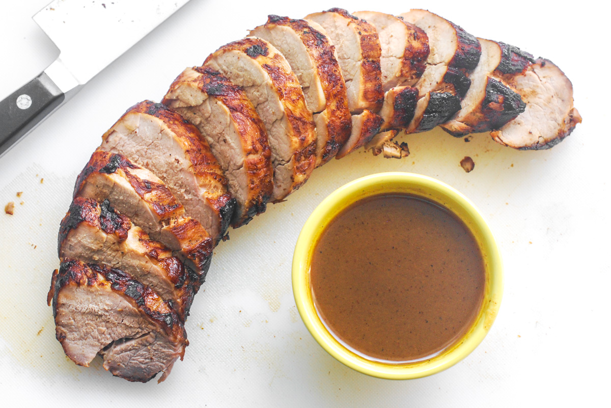 Apple Cider Pork Tenderloin
