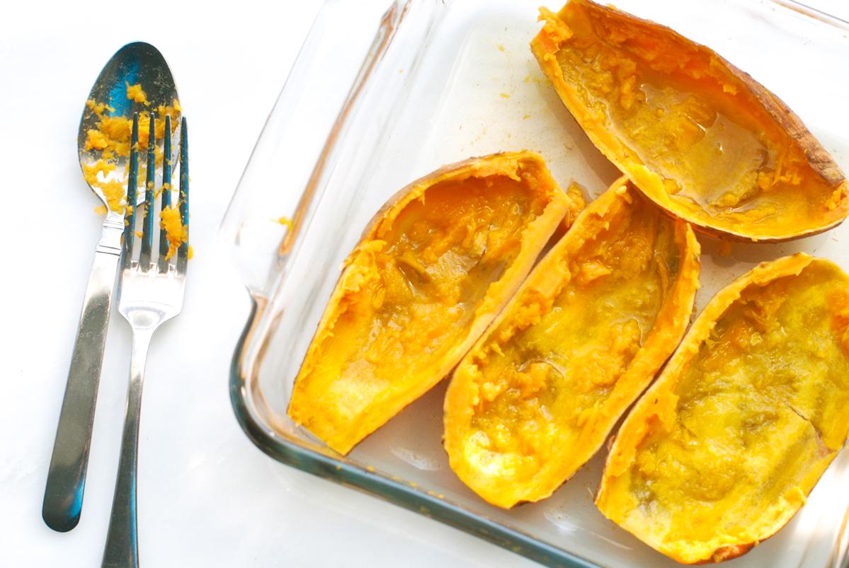 Sweet Potatoes Ready to Puree