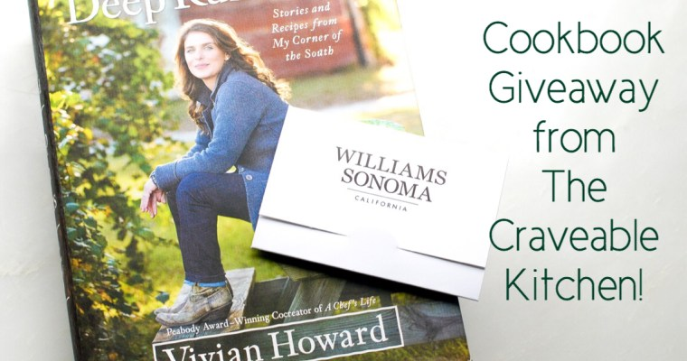 Favorite Cookbook Giveaway and Williams Sonoma Gift Card