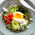 Southwest Quinoa-Rice Bowl