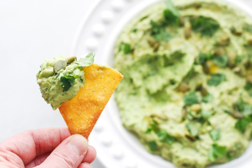 Healthy Snacking: Avocado-Sweet Pea Hummus The Craveable Kitchen