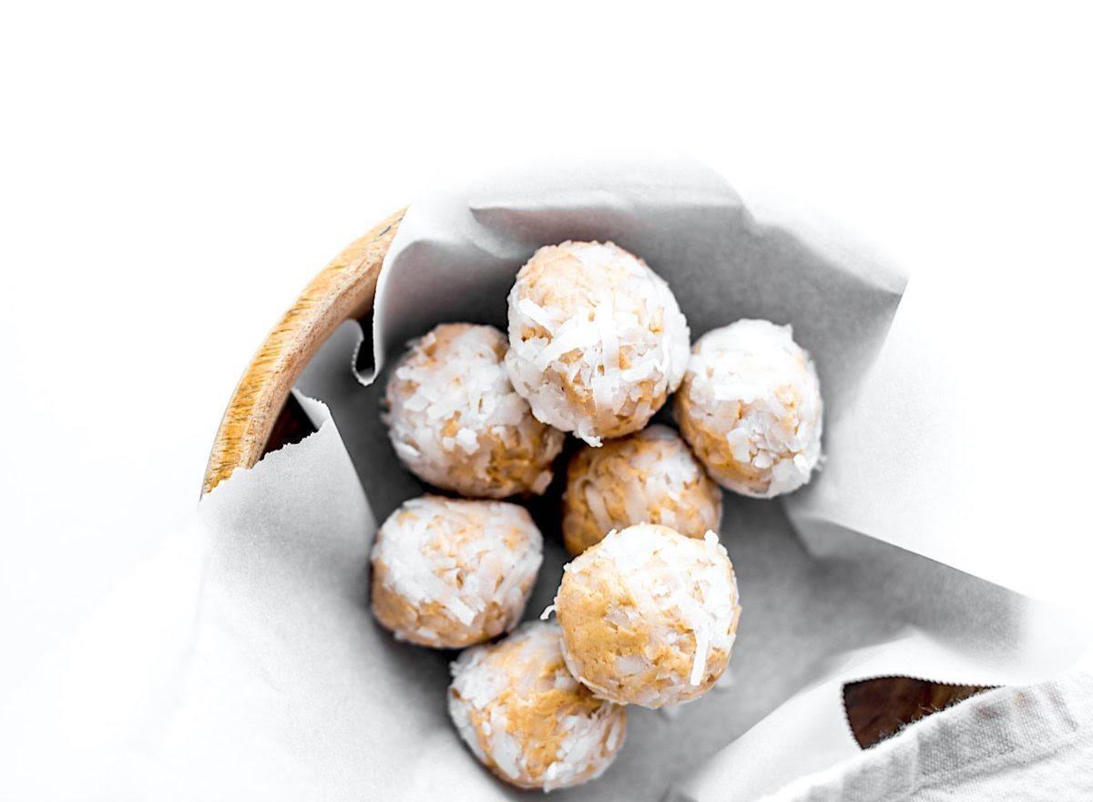 Healthy Snack: Feeding Gluten Free - Peanut Butter Balls