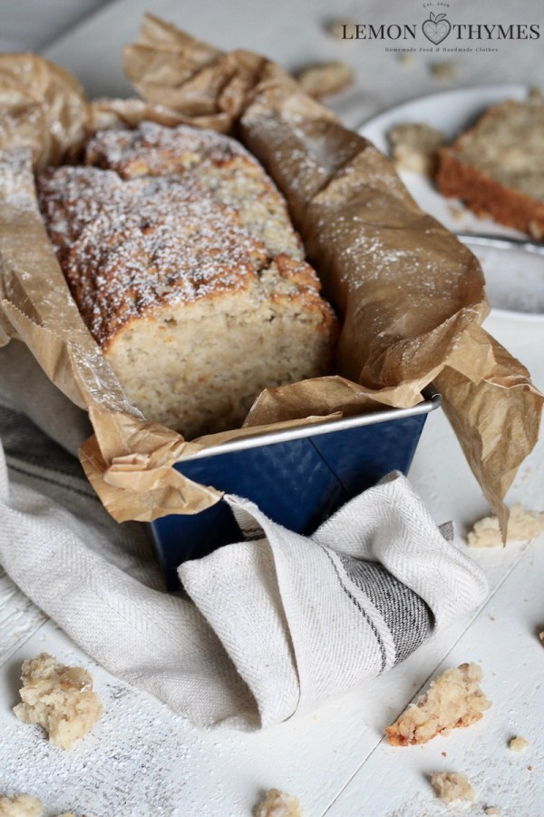 Healthy Snack: Vegan Banana Bread_Lemon Thymes