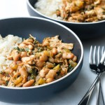 White Bean Chicken Chili Etouffee