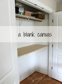Home Office in a Closet - How to make the most of a little ...