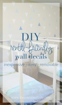 DIY Wall Decals: Rental-Friendly Decor + A Feature Wall ...