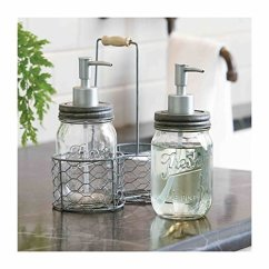 Kitchen Dish Soap Dispenser Cart With Drop Leaf Decorative Storage And Organizing On Amazon - The Crazy ...