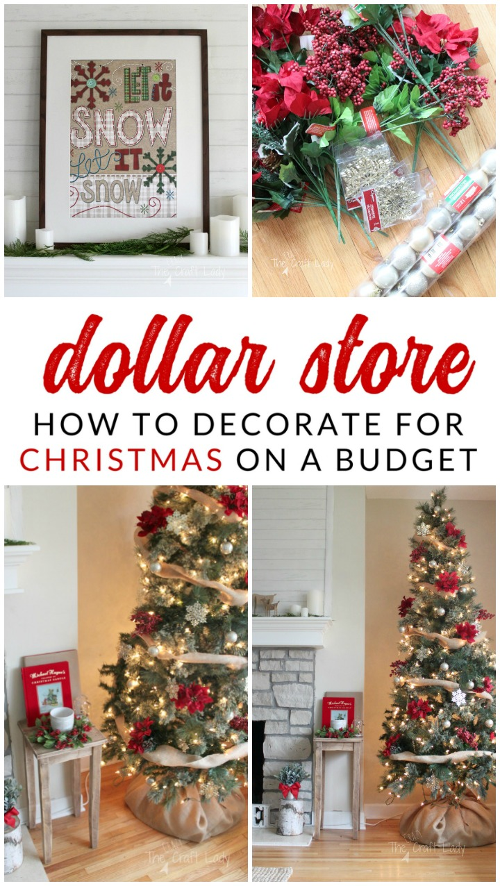 Dollar Store Christmas Decorations  How To Get The Most