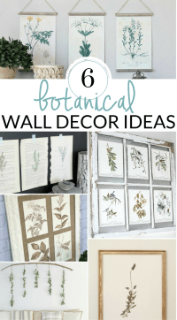 DIY Farmhouse Wall Decor Inspiration - The Crazy Craft Lady