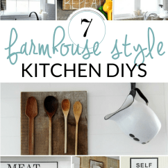 Kitchen Wall Hangings White Cabinets Design Diy Farmhouse Decor Inspiration The Crazy Craft Lady Fill Your Empty Walls With These Ideas Try A