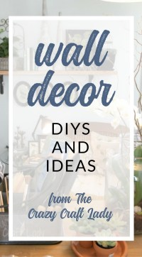 Wall Decor Archives - The Crazy Craft Lady