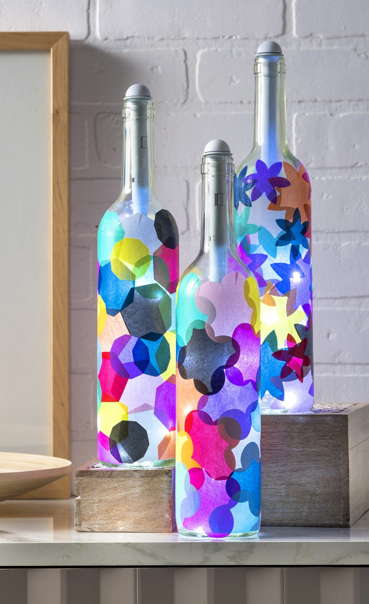 wine bottle crafts the