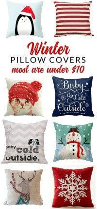 Insanely Affordable Winter Throw Pillows - Options for ...