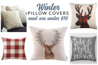 Insanely Affordable Winter Throw Pillows