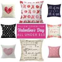 15 Budget-Friendly Valentine Pillows and Pillow Covers ...
