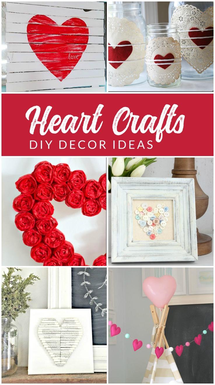 19 diy heart decorations