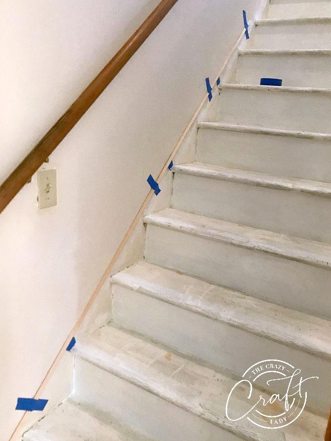 diy stair trim how