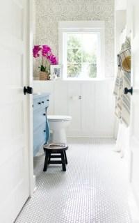 WOW-Worthy Bathroom Wallpaper Ideas - The Crazy Craft Lady