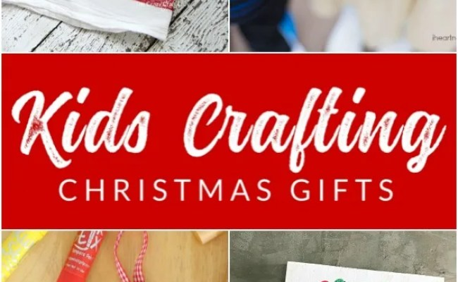 12 Sentimental Homemade Christmas Gifts From Kids The