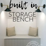 How To Build A Dormer Window Storage Bench The Crazy Craft Lady