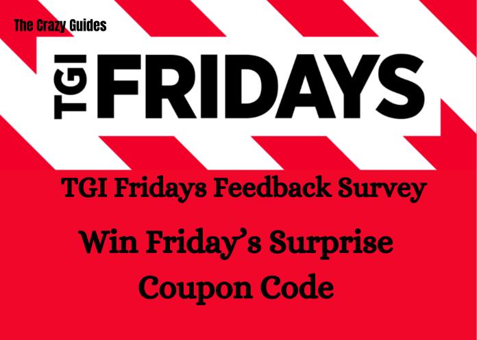 tgi fridays feedback survey