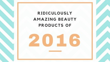 Beauty Products 2016
