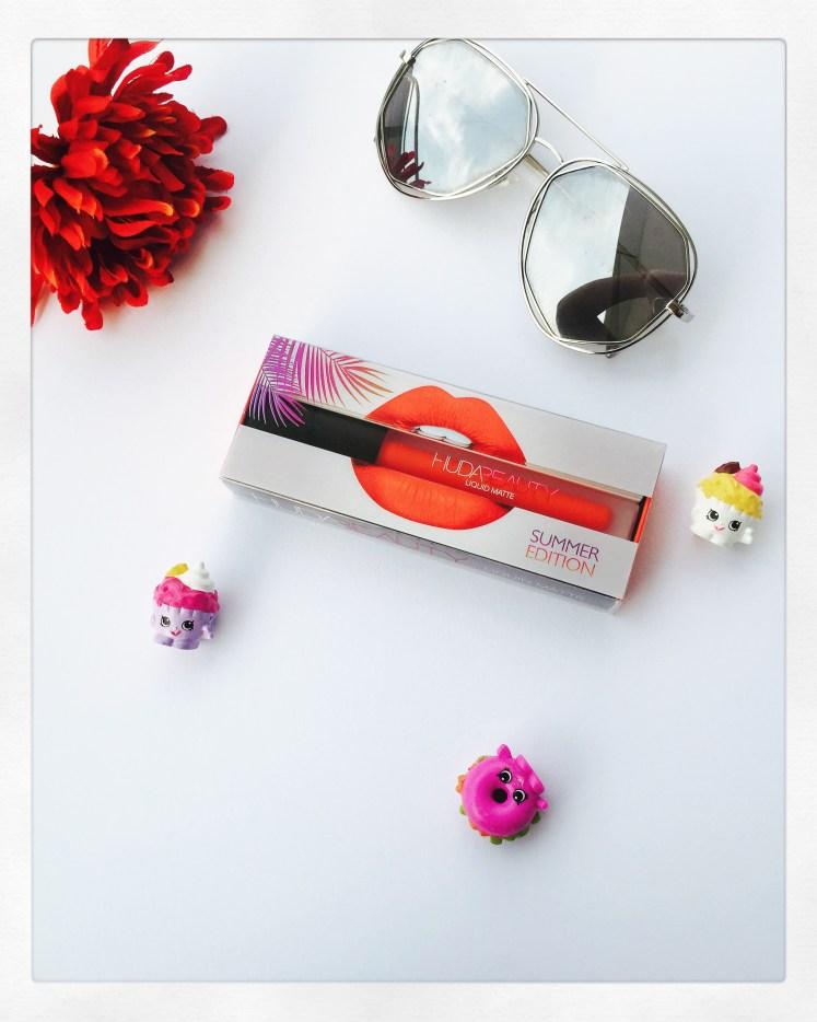 Huda Beauty Liquid Matte Lipstick- Mamacita