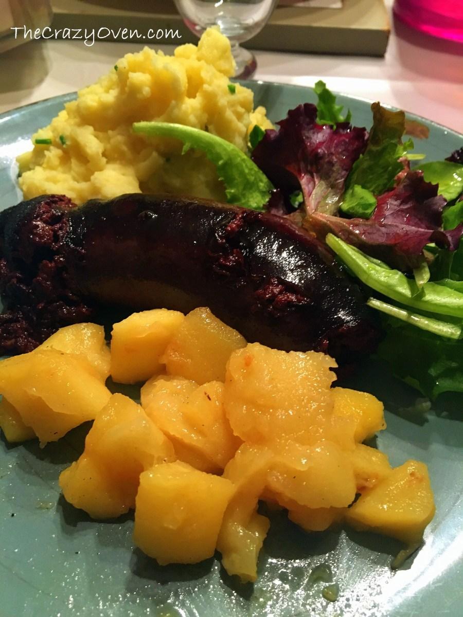 Legumes Pour Accompagner Le Boudin : legumes, accompagner, boudin, Boudin, Pommes, écrasée, Terre, Thecrazyoven:, Recettes, Cuisine, Pâtisserie