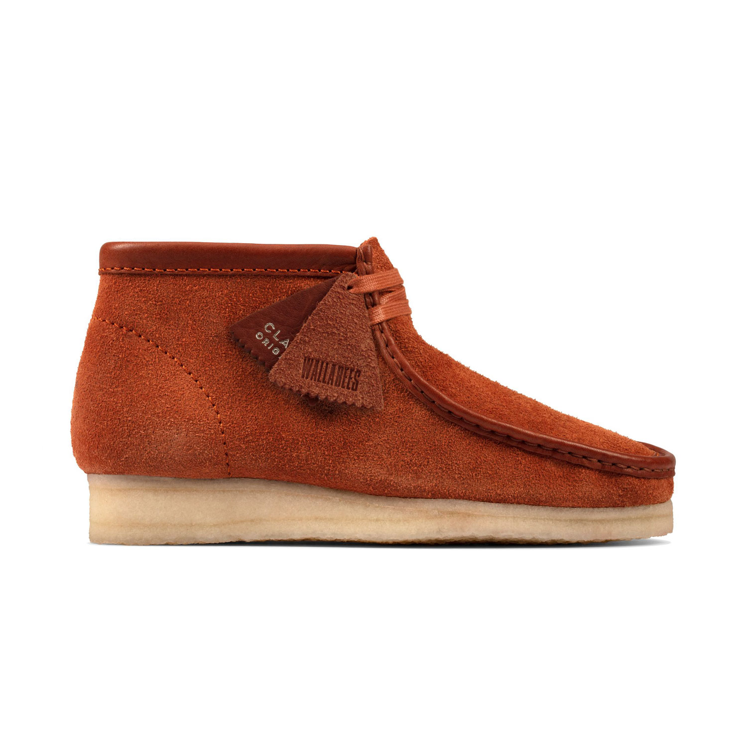 Clarks Wallabee Boot - Tan/Hairy Suede 0