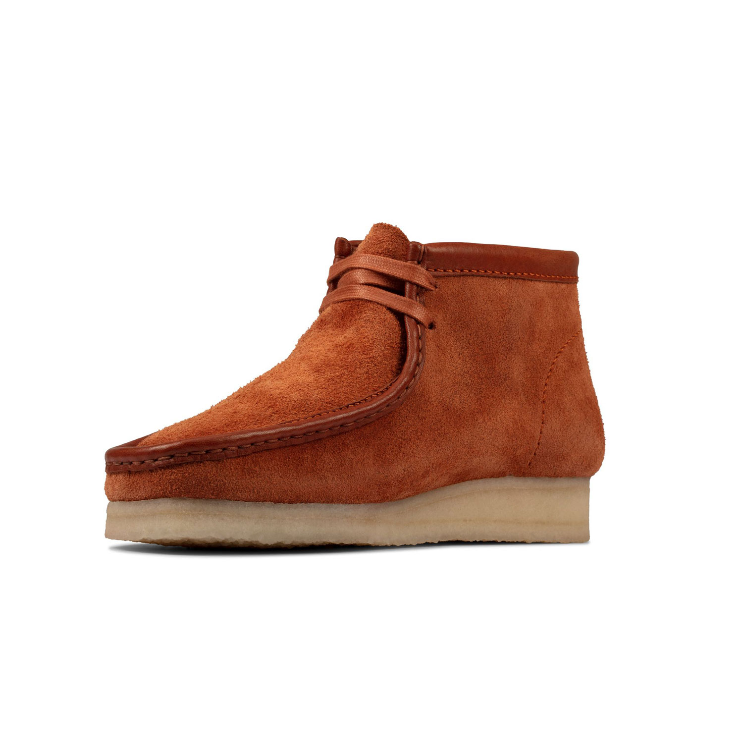 Clarks Wallabee Boot - Tan/Hairy Suede 2