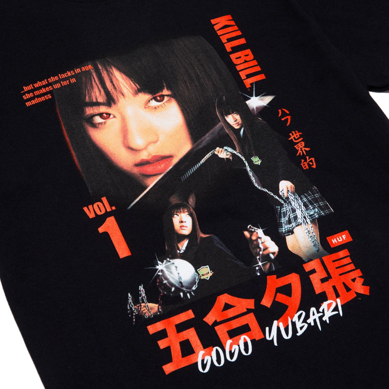 HUF X Kill Bill Gogo Yubari Tee - Black 2