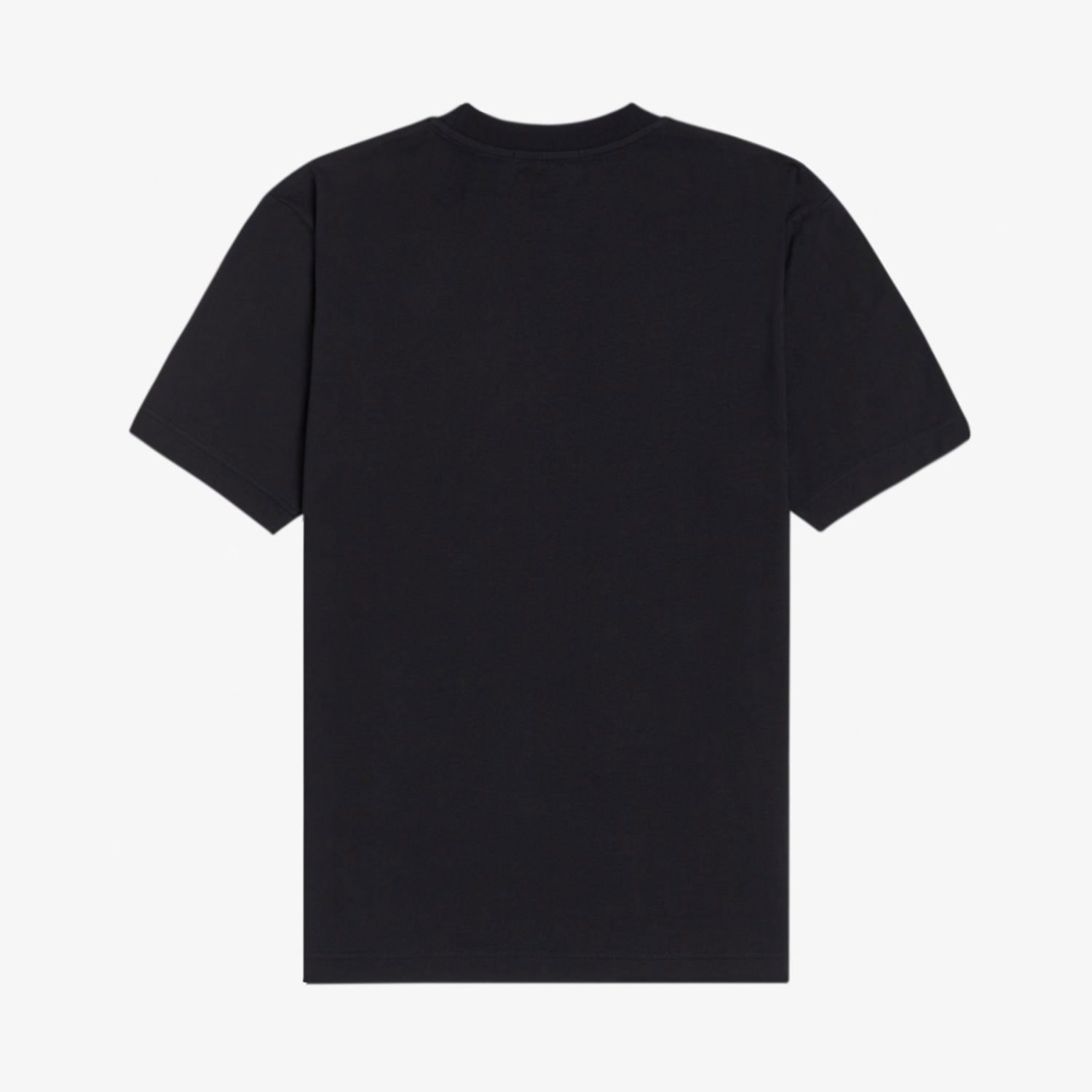 Fred Perry Graphic Applique Tee - Black 1