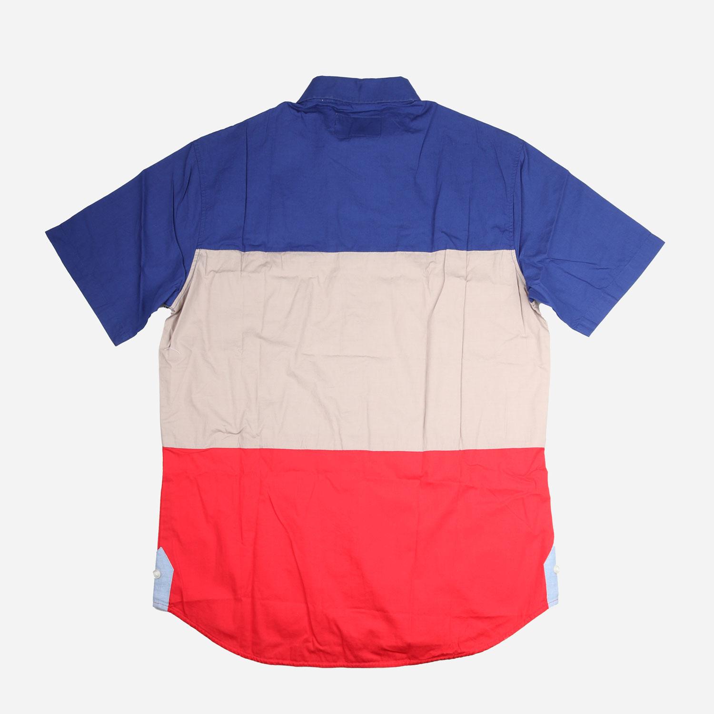 Crooks and Castles League S/S Shirt - Colour Block 1