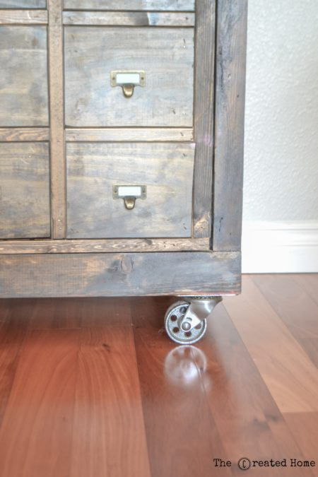 How to build a faux apothecary cabinet  The Created Home