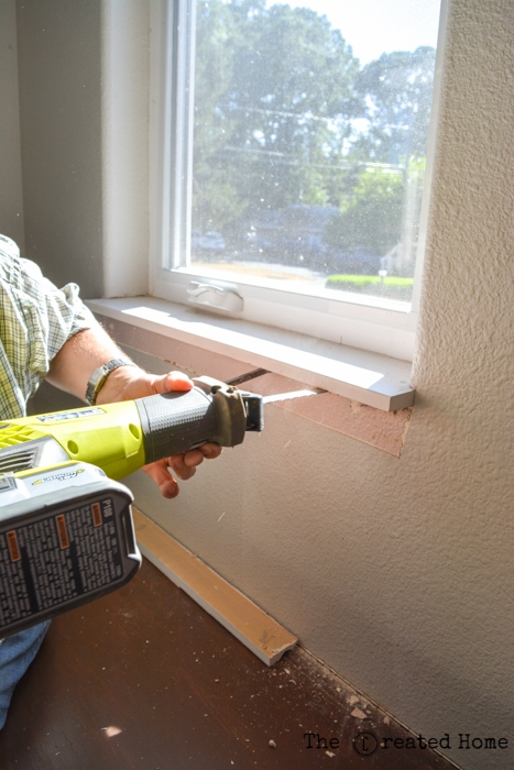 How To Trim Out Windows With Uneven Drywall
